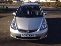 Honda Jazz (2008) Silver 1.4cc FSH 49K Mileage Mot 2017 One f/k Hpi clear - Finance & P/x welcome