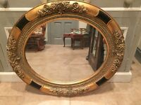Gorgeous mirrors , gold vintage antique feel