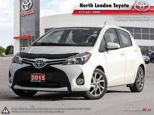 2015 Toyota Yaris SE Roomy interior for it's size, great on f...