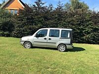 Fiat Doblo, can be used as a day van