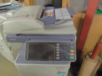 Toshiba E-studio 2505C colour & black & white A3 A4 photocopier printer scanner,