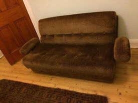 Small vintage sofa bed