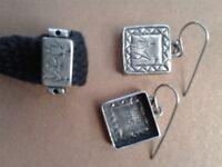 Vintage silver jewellery