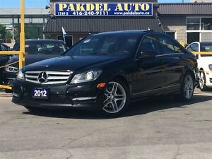 2012 Mercedes-Benz C-Class C300 4MATIC*AMG PKG*NAVI*CAMERA*BLIND