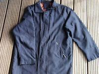 Mans Navy blue throtex jacket