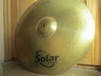 Sabian Solar 4 Piece Cymbal Set