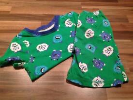 Dressing gown & pj sets x 2 age 2-3
