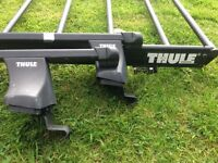 Thule roof bars and rack.