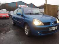 2004 Renault Clio 1.5 DCI Blue 12 Months MOT