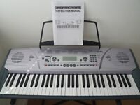 Axus Digital AXP2 Electronic Keyboard with stand