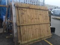 7ftx6.5ft fence panels £8 each
