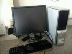 Dell Monitor, Tower, Keyboard and Mouse(spare and repairs)