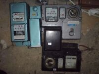 COIN OPERATED ELECTRICITY METERS