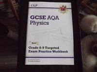 GCSE Revision Books For Biology, Chemistry, Physics.