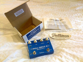 Fulltone Full-Drive (Fulldrive) 2 MOSFET overdrive/boost/distortion pedal