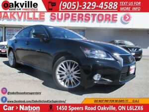 2013 Lexus GS 350 AWD 306 HP | NAV | ROOF | HTD AND COOLED SEATS