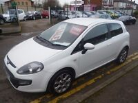 Fiat PUNTO EVO GP,stunning white 3 door hatchback,FSH,clean tidy car,runs and drives as new,only 47k