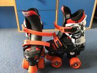 Adjustable Roller Skates Size 10-12