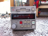 Denon professional MD mini disk cart recorder / player model DN990R