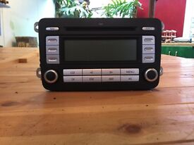 Genuine VW RCD300 with code