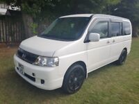 Honda Stepwagon automatic 8 seater rare, 1 year mot in perfect condition