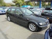 BMW 320D 1995cc ES TOURING TURBO DIESEL 5 DOOR ESTATE 2003-53, 1 FORMER KEEPER, FULL SERVICE HISTORY