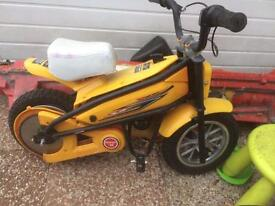 Kids electric boys bike