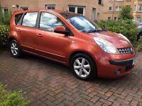 2007 Nissan Note 1.5 Diesel Mpv,Very Ecnomical,10 months Mot,Full History