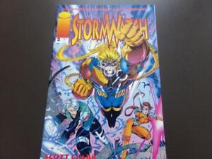 STORMWATCH VOL1 ISSUE #2 MAY 1993 8.5-VF+ 3$