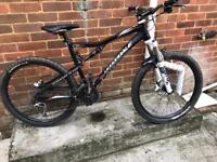 Cannondale rx 120 one twenty full suspension mountain bike will post