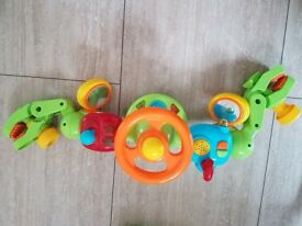 Steering wheel for toddler with sounds
