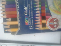 drawing books colouring pens pads of paper colouring pencils