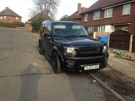 Land Rover discovery 3 xclusive custom