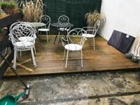 Special treated outdoor decking