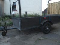 Car trailer nine foot by four foot,