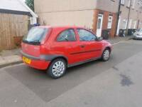 Cheap ideal first car 1 liter Vauxhall Corsa 03 reg low insurance group ,px welcome