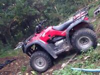 honda trx 350se farm quad