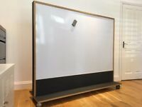 BIG Wooden Whiteboard Custom Double-Sided Freestanding Magnetic Office