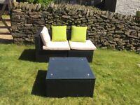 Corner garden furniture