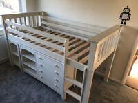 Julian Bowen Mid sleeper Childrens Bed