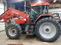 2008 McCormick MTX 135 With self leveling loader and grapple