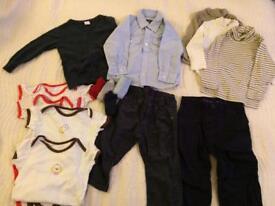 Baby boy clothes bundle 12-18 month