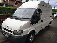 55 PLATE TRANSIT LONG WHEEL BASE HI TOP IN VERY NICE CONDITION
