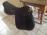 Black GFS GP Saddle