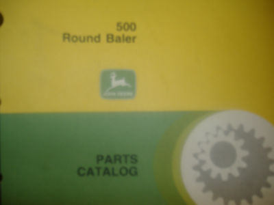 John Deere 500 Round Balers Parts Catalog