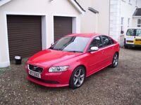 2009 VOLVO S40 R-DESIGN SE SPORT , D5 185 BHP , FULL SERVICE HISTORY , MAY PX