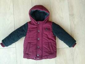 Boys Winter Coats 12-18 months