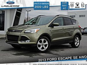 2013 Ford Escape **SE*AWD*CUIR* NAVI*CRUISE*A/C 2 ZONES
