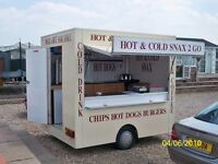 5* RATED SINGLE AXLE CATERING TRAILER FOR SALE
