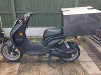 Peugeot Ludix 50cc Pro with a Years MOT Delivery Bike